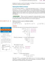 squaring both sides of an equation might produce a nonequivalent equation that has more solutions than