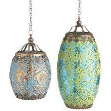 bohemian lighting. bohemian mercury hanging lanterns pier one lighting g