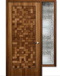 wooden door design. Designer Wood Doors Amusing Teak Finish Wooden Door With Window Feet Height . Design I