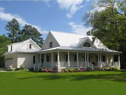 white farm style house plans with wrap around porch