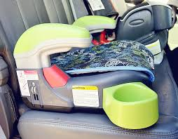 this booster seat has been really nice it is really light and super easy to transfer from truck to truck super helpful because my son has been going to