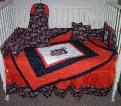 crib nursery bedding set made w detroit tigers fabric