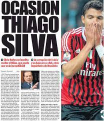 Calciomercato Milan, El Mundo Deportivo titola: