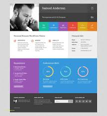 Personal Resume Website Template Or Resume Portfolio & Cv Vcard ...