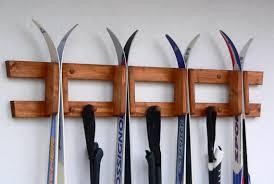 crosscountry skis ski rack ski