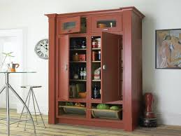 exclusive free standing kitchen pantry ideas