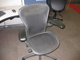 Aeron Chairs Remastered  Herman MillerAeron Office Chair Used