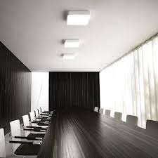office lights. mensa sq ceiling rendl light studio square led ceiling with a lacquered aluminum office lights