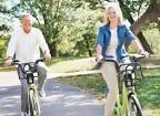 fietsen of lopen om af te vallen