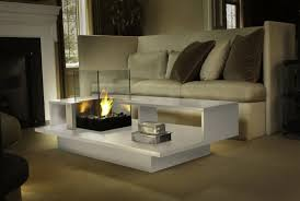 Indoor Coffee Table With Fire Pit Fireplace Coffee Table
