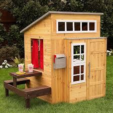 kidkraft modern outdoor wooden playhouse reviews and