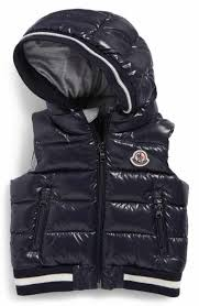 Moncler Larry Hooded Down Puffer Vest (Baby Boys   Toddler Boys)
