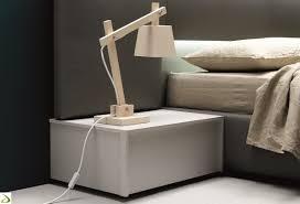 Comodino da letto: comodino cassetti in legno pakman arredo design