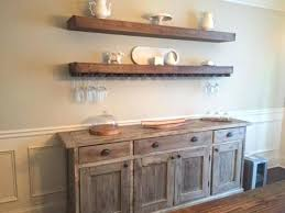 dining room storage ideas floating shelves with wine glass storage over buffet in dining room villa