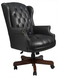 Office Chair Leather Articles With Black Leather Wood Office Chair Tag Leather Wood