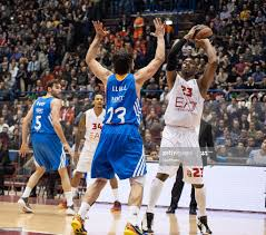 Langford during the match between Ea7 Olimpia Milano and Real Madrid... News  Photo - Getty Images