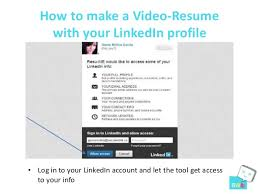 3. How to make a Video-Resume with your LinkedIn ...