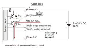 wafer mapping sensor m dw1 i o circuit and wiring diagrams npn output i o circuit diagram