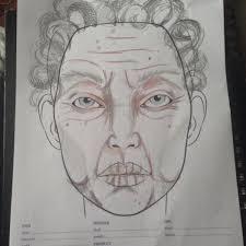 Old Age Makeup Face Chart Makeupview Co