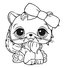 Small Picture 40 best Littlest Pet Shops coloring Pages images on Pinterest
