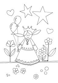 Kleurplaat Prinses Kleurplaat Prinses Gratis Kleurpagina S Om Te