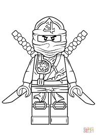 Lego Ninjago Green Ninja Super Coloring Boys