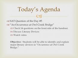 sat question of the day iuml ldquo an occurrence at owl creek bridge sat question of the day 5 iuml130153 an occurrence at owl creek bridge