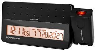 bresser mytime pro projection alarm clock black bresser catalogue