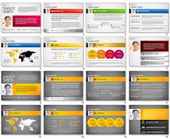 Powerpoint Resume Fascinating Cv Powerpoint Presentation Templates Resume Powerpoint Template