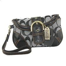 Coach Buckle In Monogram Medium Grey Wristlets DYZ Is The Best Choice To  Add Your Life