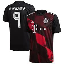 It shows all personal information about the players, including age, nationality. Men S Adidas Robert Lewandowski Black Bayern Munich 2020 21 Third Replica Jersey
