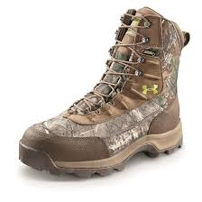 under armour boots. under armour men\u0027s brow tine primaloft insulated boots, 1,200 grams, realtree ap xtra boots