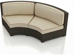 forever patio hampton radius curved loveseat replacement cushions fp hamr cls cush