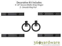 garage door kitSouthwest Style Decorative Garage Door Kit  360 Yardware