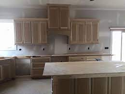 the cabinets or the flooring
