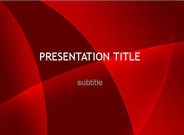 Powerpoint Themes Free Download Free Red Powerpoint Templates The Highest Quality Powerpoint