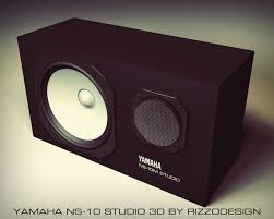 yamaha ns10. yamaha ns-10 studio 3d by rizzodesign ns10 c
