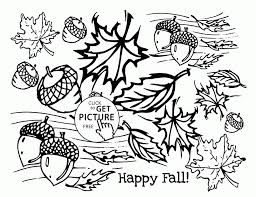 Small Picture Fall Leaves Printable Coloring Pages Coloring Coloring Pages