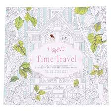 Small Picture Amazoncom YAOCAN Time Travel Coloring Books For Children