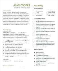 Sample Executive Assistant Resume Fresh Admin Assistant Resume