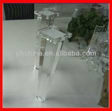 atl 015 tapered acrylic furniture legclear acrylic stool leglucite acrylic bench acrylic legs for furniture