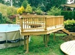 Above ground pool with deck attached to house Deck Jacuzzi Full Size Of Above Ground Pool Decks Price Deck Kits For Sale Pictures Of Round Building Diariopmcom Tag Archived Of Above Ground Pool Decks Attached To House Above