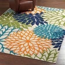 multi colored rug indoor outdoor area rug