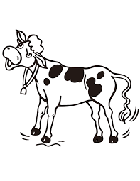 Small Picture Cow Coloring Pages 1257 10241044 Free Printable Coloring Pages
