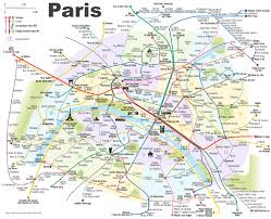 download map of main attractions in paris  major tourist