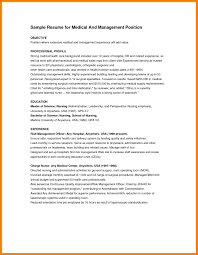 Bunch Ideas Of Resume Objectives For It Professionals Medical