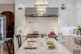 White Transitional Kitchens Transitional Kitchen Backsplash Ideas