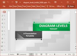 Animated Stage Diagram Maker Powerpoint Template Fppt