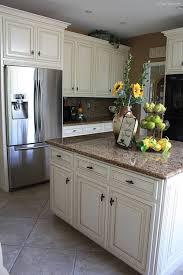 Kitchen Makeover By FrugElegance.com. Cream CabinetsWhite ...