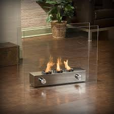 Portable Patio Fireplace  FoterPortable Indoor Fireplace